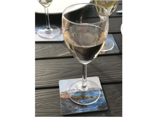 underlagg for glas Akvarellmotiv astal