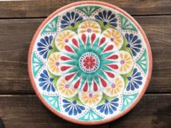 Tallrik-Marockansk-Klassisk-Super-hardplast-27-cm
