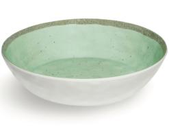 Djup-tallrik-Rustik-Mintgron-Super-hardplast-Verde-21x5-5-cm