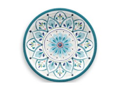 Assiette-Marockansk-Bla-Super-hardplast-21-cm